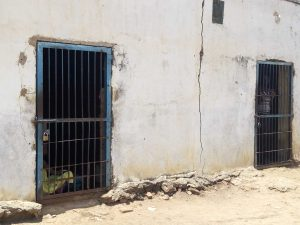 Detention facility at Agok Police Station
